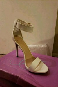 White leather 4inch heels Severn, 21144