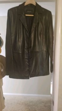 Leather Jacket, black- marshmallow soft El Dorado Hills, 95762