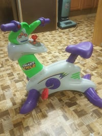 white and purple smart cycle stationary bike toy Muskego, 53150