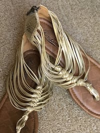 Lucky brand women's sandals Cathedral City, 92234