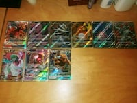 GX pokemon cards and 1 EX Arlington, 22204