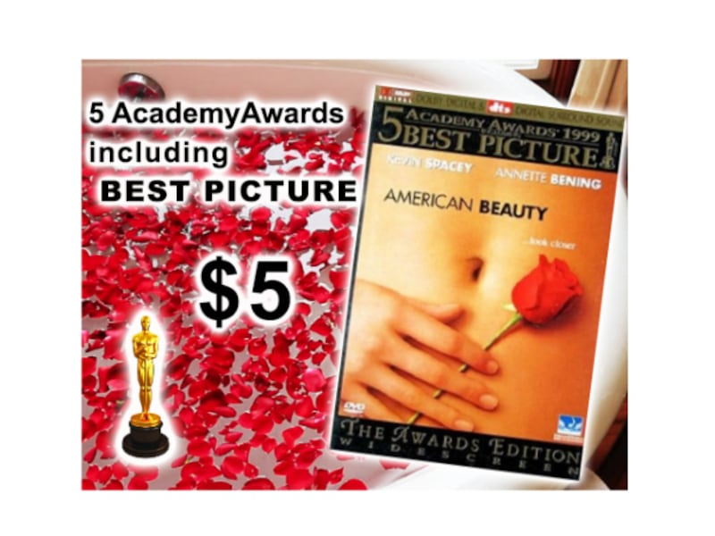 5 AWARD WINNER - American Beauty (DVD, 2000 Awards Edition Widescreen) 00dd888b-71c3-4ee1-8ed4-5e17ad3dce44