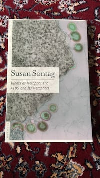 Susan Sontag Illness as a metaphor and AIDS and ITS metaphors Vaughan, L4L 0A9
