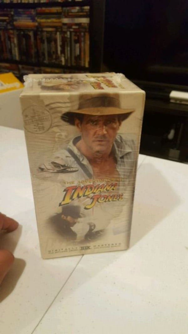 Vintage Indiana Jones VHS Collections  62d3249b-6df2-440e-80cf-04c00f585968