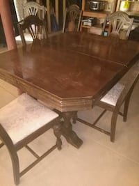 Antique walnut Dining set Schomberg, L0G 1T0