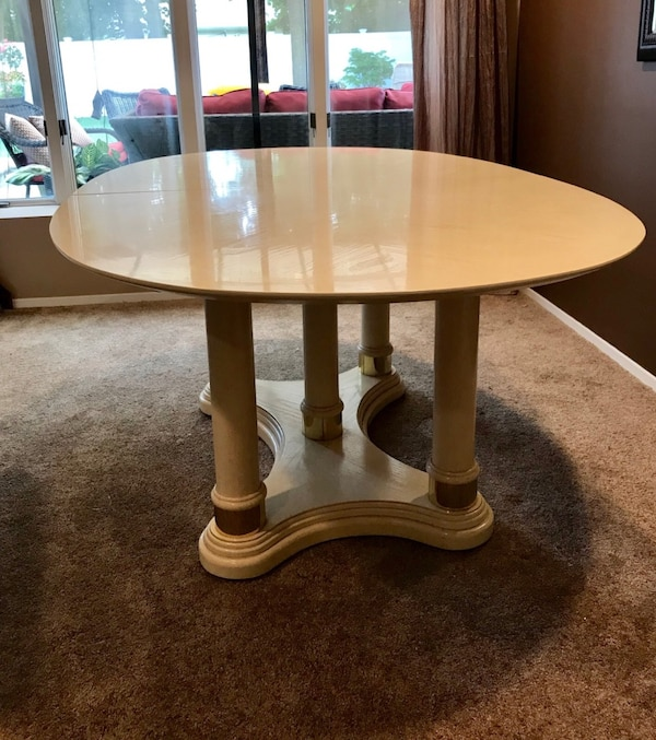 Thomasville Solid Birch Wood Dining Table