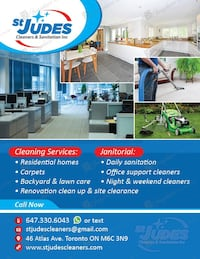 Commercial and residential cleaning Toronto