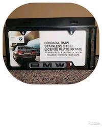 BMW License Plate Frame (New)