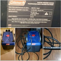 Electric pressure washer  467 km