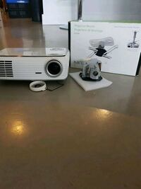 Optima HD65 Projector, Mount and Screen New Westminster, V3M 0A9