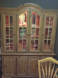 brown wooden cabinet with mirror Richmond, V7C 1E4