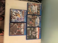 four Sony PS4 game cases Nicholasville, 40356