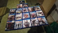 assorted Sony PS4 game case lot Irvine, 92606