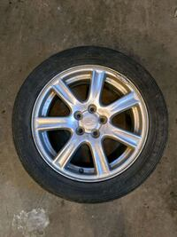 Winter Tires 205/55R15 with rims in good conditions Edmonton, T6R 3R9