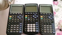 two black Texas Instruments TI-84 Plus Fairfax, 22032