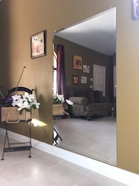Each item separate is $52 Mirror 4 ft tall and 3 ft wide A desk with a seat both items are $52 El Centro, 92243