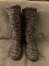 UGG Sequin Knit Boots.  Size 9