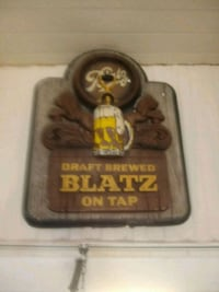 Blatz lighted sign.  Rare Leesburg, 34788