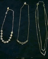 3 Necklaces for $40.00 Vancouver, V6A 1P4