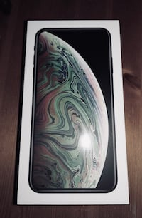 iPhone XS Max 512GB Ny/ Uåpnet Grålum, 1712
