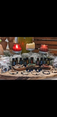Essential oil and gemstone bracelets & DoTerra essential oil sample