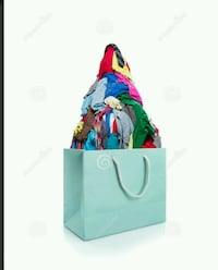 Bag filled with clothes Edmonton, T5A 0Y1