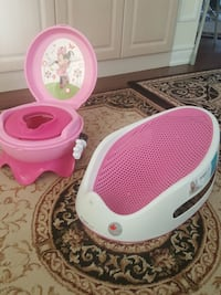 baby bath support+musical potty Richmond Hill, L4C 6V3