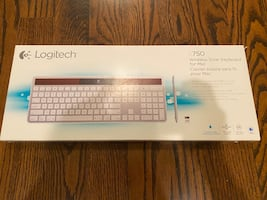 Logitech k750 wireless solar keyboard for Mac