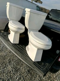 Two Brand new, barley used Contrac toilets.  Markham