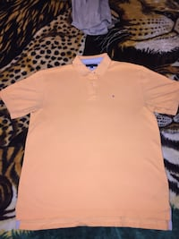 Orange Tommy Hilfiger shirt, size extra large Pickering, L1V