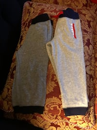 gray and black Nike sweatpants 29 km