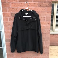 Black zip-up jacket size Mens M