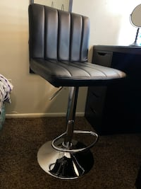 Black Vanity Chair