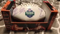 Redskins auto graph ball Chris samuels reed doughty Vienna, 22180
