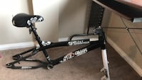 black and gray bicycle frame Edmonton, T5H 0W5
