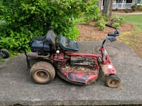 red and black ride on lawn mower Warner Robins, 31093