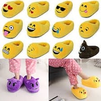 The hottest gift for x-mas Emoji Slippers Vineland, 08332