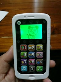 white and black Vtech wireless telephone Catonsville