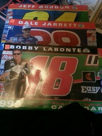 NASCAR signature series calender from 1999 Newland, 28657