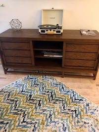 Crate and barrel entertainment center