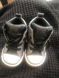 pair of black-and-white Adidas sneakers Temple Hills, 20748