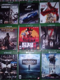 Trade for action figures xbox one games