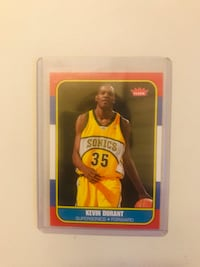 Kevin Durant 2007 ROOKIE CARD MINT CONDITION Paterson, 07505