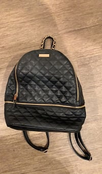 Backpack faux leather