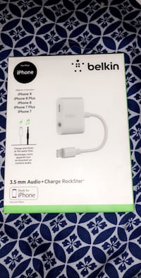 3.5mm Audio+Charge Rockstar  Guelph, N1H