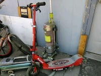 red and gray Razor electric scooter Tonopah, 89049