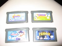 Nintendo Gameboy Advance Games Lot of 4 Toronto