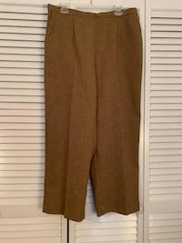Alfred dunner Size 16W Light Brown Pants Myrtle Beach, 29577