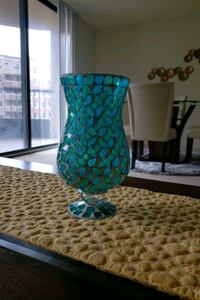 green and blue ceramic vase Arlington, 22202
