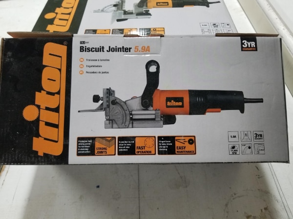 Triton Biscuit Jointer TBJ001
